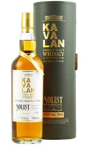 Kavalan Solist Ex Bourbon Cask