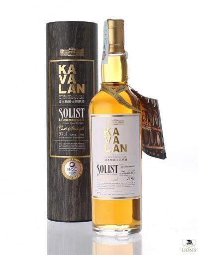 Kavalan Solist Ex Bourbon Cask 57.1%