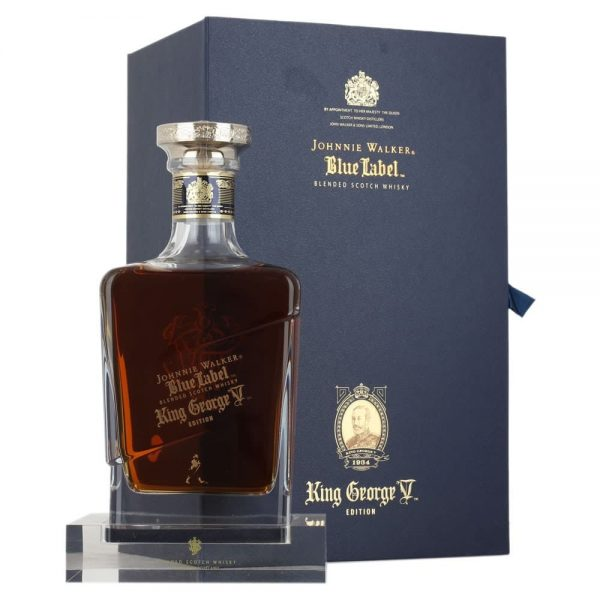 Johnnie Walker Blue Label King George V Blended Scotch Whisky