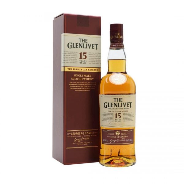 Glenlivet 15 Years French Oak 40%