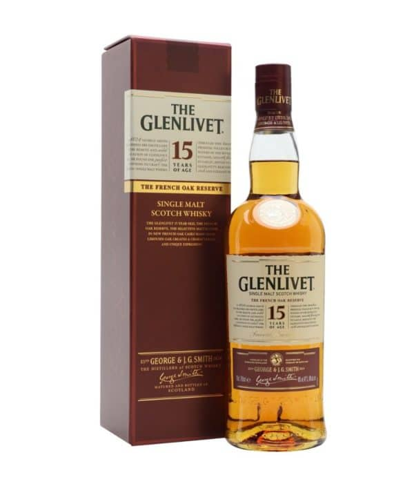 Glenlivet 15 Years French Oak 40%