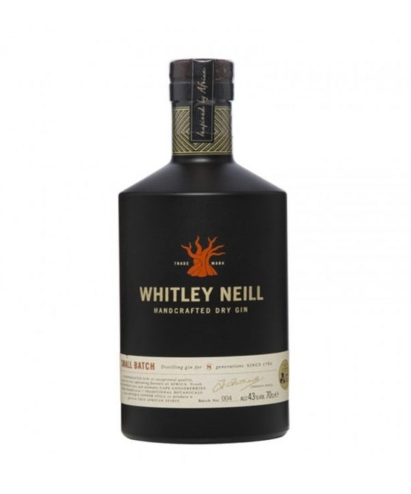 Cws01493 Whitley Neill Small Batch Dry Gin 700ml