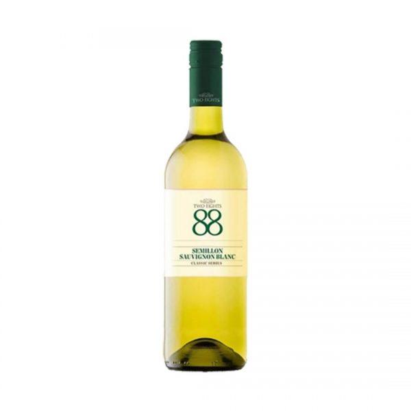 Cws10745 Two Eights Classic Semillon Sauvignon Blanc 2014