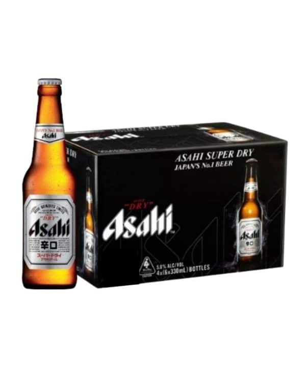 cws10332 asahi super dry beer glass bottle 330ml