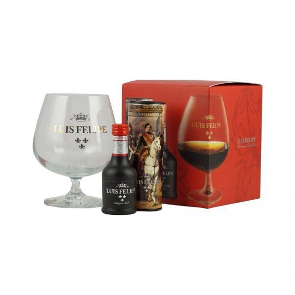 cws11103 luis felipe brandy 40ml with brandy glass