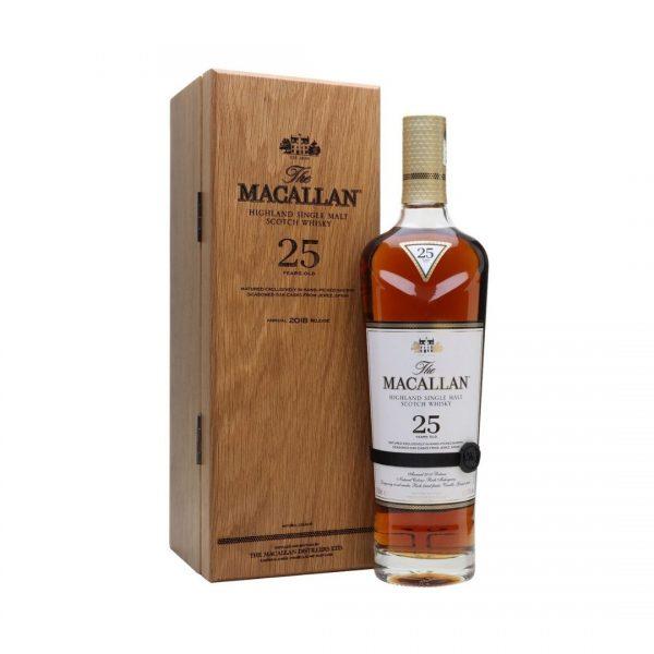 cws10999 macallan 25yo sherry oak