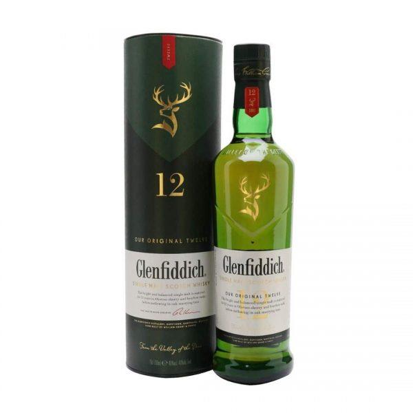 Glenfiddich 12 Years 40%