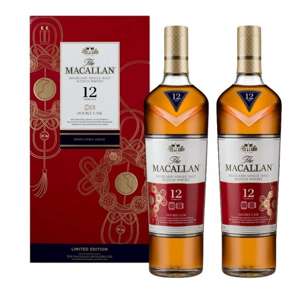 Macallan 12yo Double Cask Cny Twin Pack