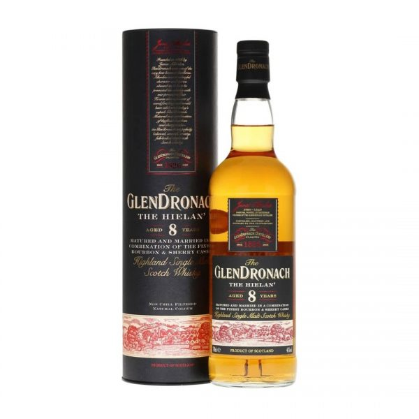 The Glendronach 8 Years The Hielan