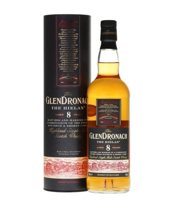 The Glendronach 8 Years The Hielan