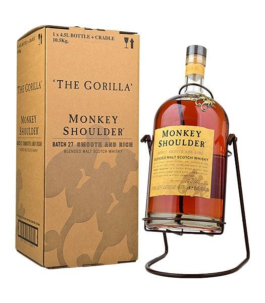 Monkey Shoulder Gorilla Cradle 4.5 Litre