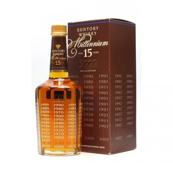 Cws11026 Suntory Whisky 15 Years Old Millennium