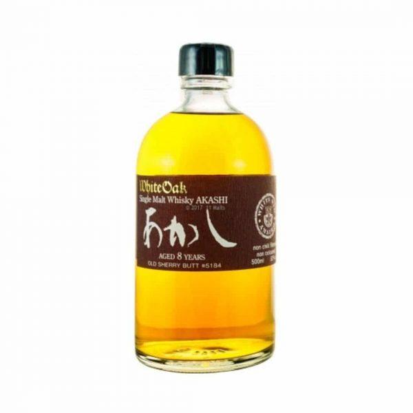 Cws10781 White Oak Single Malt Whisky Akashi – Aged 8 Years Old Sherry Butt