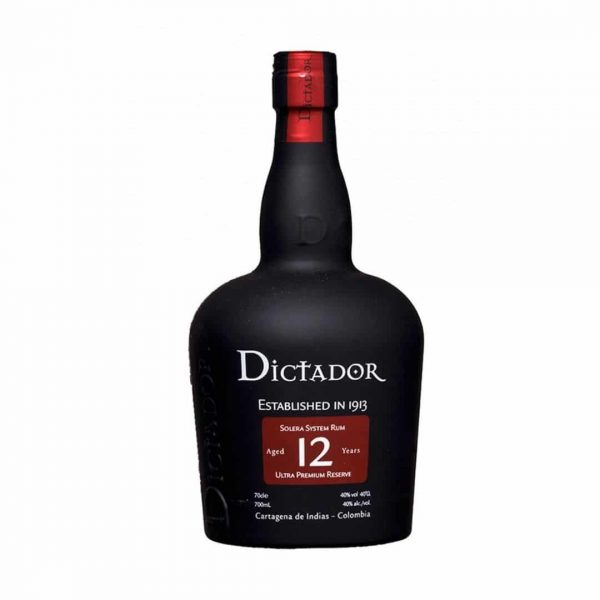 Cws11425 Dictador 12 Years Rum