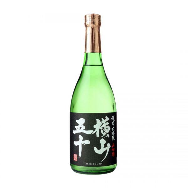 Cws11889 Yokoyama Goju Junmai Daiginjo Black Sake 720ml