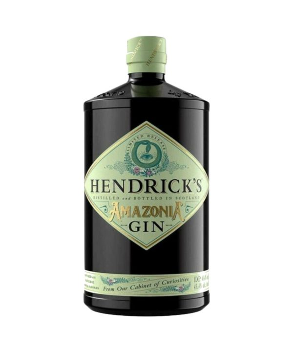 cws11866 hendrick's amazonia gin 1l