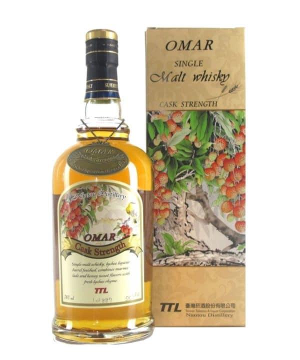 cws11968 omar whisky lychee barrel 700ml