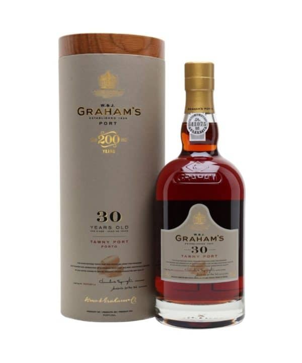 cws12021 grahams 30 years tawny 750ml