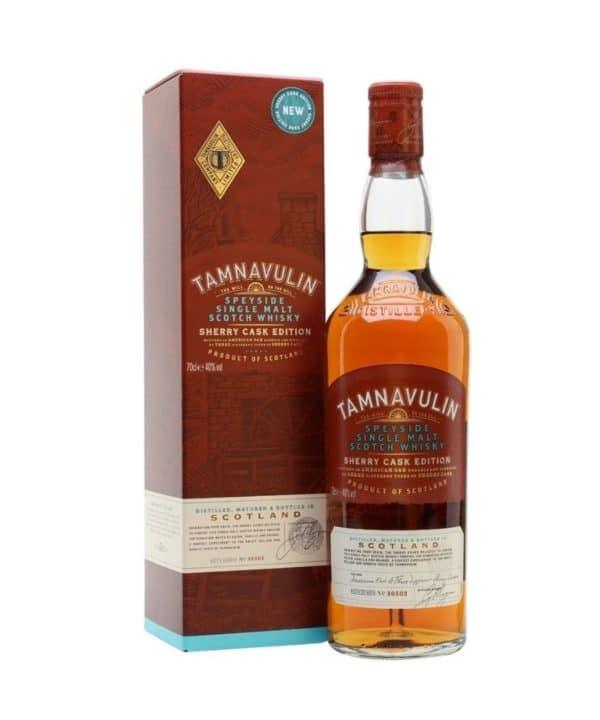cws12032 tamnavulin sherry cask edition 700ml