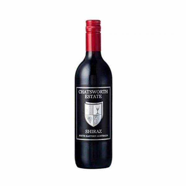 cws10594 chatsworth estate black label shiraz nv
