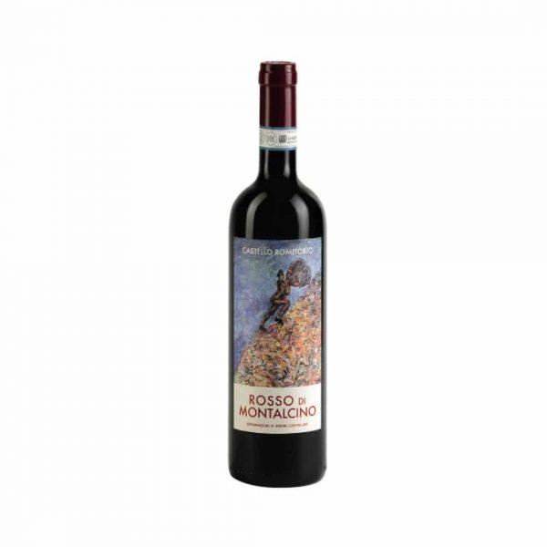 cws12005 castello romitorio rosso di montalcino 2019 750ml