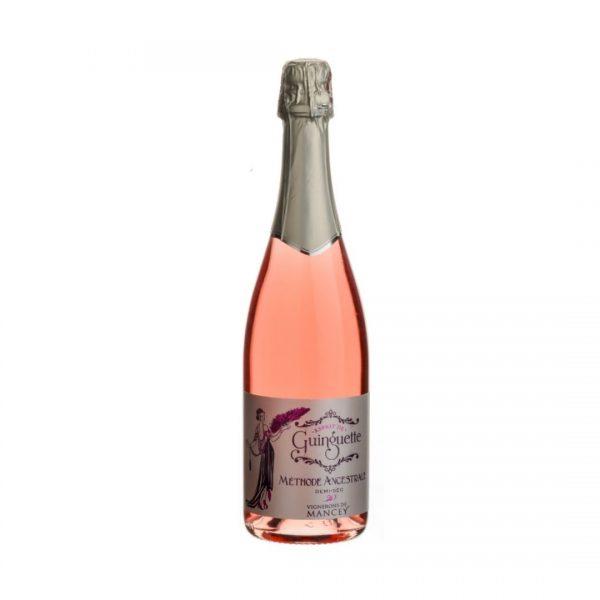 cws11451 les vignerons de mancey methode ancestrale demi sec rose esprit de guinguette