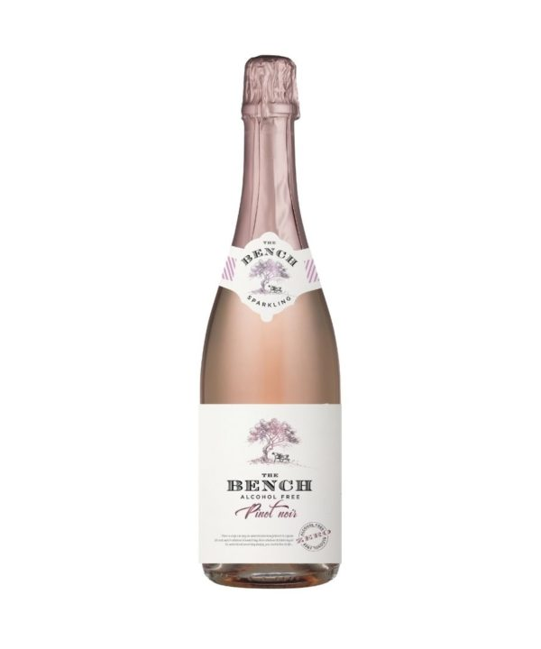 cws12045 the bench sparkling rose pinot noir alcohol free 750ml