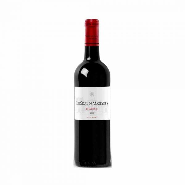 cws12099 le seuil de mazeyres pomerol organic wine 2019 750ml
