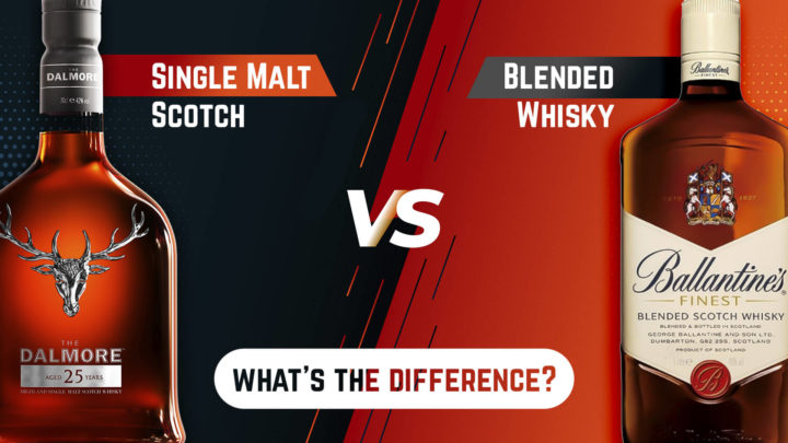 single malt scotch blended whisky what is the difference
