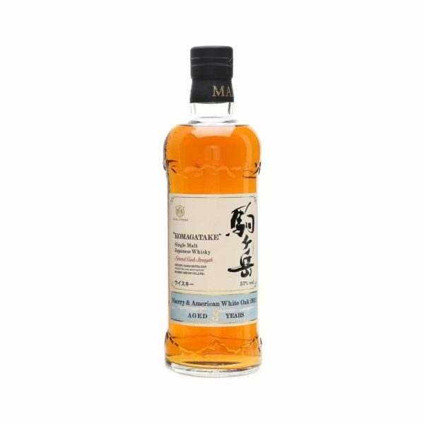 "cws10670 mars whisky ""komagatake"" single malt – natural cask strength – sherry & amercian white oak 2011 aged 3 years"