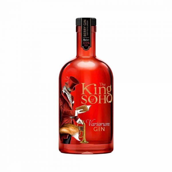 cws12162 king of soho gin variorum 700ml